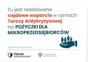 Baner wsparcie dla mikroprzedsiębiorców