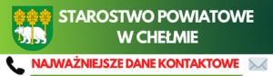 Dane kontaktowe do Starostwa Powiatowego w Chełmie